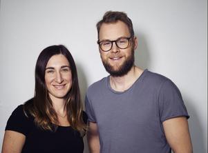 Klara Möller Norén och Tomas Diederichsen.