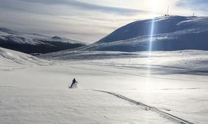 Bydalsfjällen öppnar tidigt i år tack vare det ymniga snöfallet. Arkivbild,