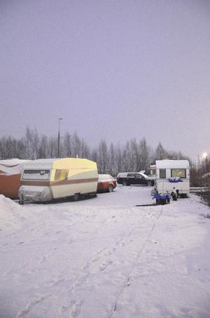 Lägret fick flytta - och sedan flytta tillbaka.