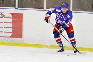 Niklas Eriksson var en av målskyttarna mot Lidingö på fredagskvällen.