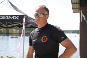 Före detta landslagskanotisten Per Lundh gjorde comeback i SM för Hofors Kanotklubb.