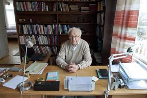 Kjell Olof Feldt (S) var finansminister när 90-talets skattereform genomfördes.
