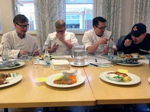 Kända Falukrögarna Ingemar Eberstål, Fredrik Pettersson, Görgen Tidén och Ted Stöffling agerade jury.