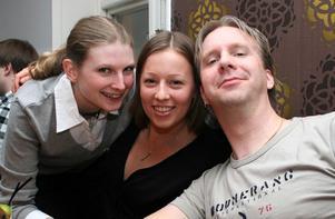Bill och Bob. Sandra, Kristina och Fredrik