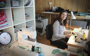 Helena Modig i den nya butiken/fabriken.