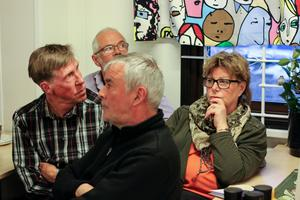 Bo–Yngve Nilsson, Bo Schröder, Gunilla Schröder samt Helmut Poppe.