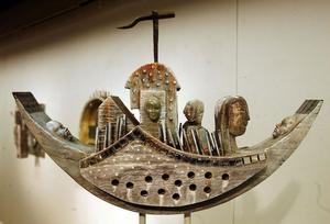 Tidvatten – Janne Tillanders konst har funnit ett nytt uttryck, i form av en skulptur.
