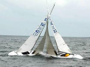 """Lennart """"Lecke"""" Heselius seglar med Loranga i blodet. Hur går det här?"""