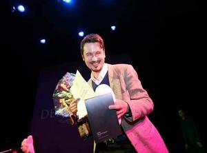 Maxim Grigoriev får Borås Tidnings debutantpris, för sin novellsamling