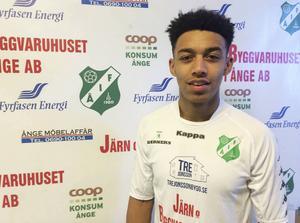 Joe Whittington är klar för spel i Ånge IF.