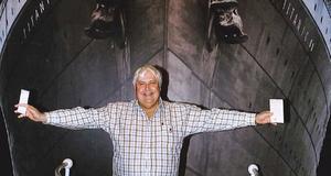 Miljardären Clive Palmer vill bygga Titanic II.