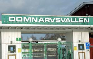 Fotbollförbundet avvaktar med en besiktning av Domnarvsvallen.