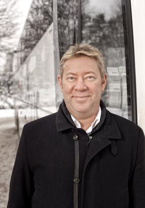 Ingvar Ryggesjö, presschef på Swebus.