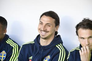 Det kom inget besked om Zlatans framtid under onsdagens presskonferens.