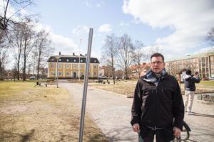 Magnus Källström, Lions Club i Avesta, är festivalgeneral för Avestafestivalen. Nu hoppas han att någon kan tänka sig att arrangera cruising i centrala Avesta den första helgen i juni – när festivalen drar i gång.