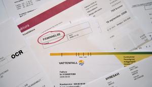 Politikerna i Sala och Heby står privat tillsammans för 208 betalningsanmärkningar, en del betalda andra obetalda. Foto: Jessica Gow/Scanpix