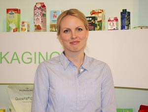 Anna Karlsson var en de kvinnliga ingenjörerna som tjejerna fick träffa.