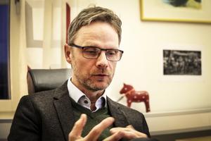 Lars Åsberg, vd för Bollnäs bostäder. Foto: arkiv.
