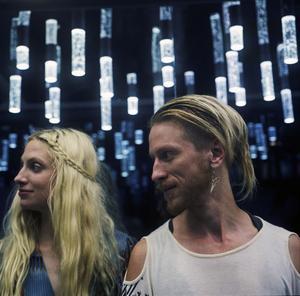 Elin Skeppstedt och David Lehnberg i The Deer Tracks. Förra året vann Lehnberg årets producent på Local Heroes-galan.