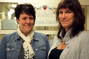 Förtroende. Verksamhetschefen Helena Strandberg och biträdande verksamhetschef Eva-Lotta Lundin har förberett för den nya storvårdcentralen. Den vårdcentral som kommer att vara störst i hela Sverige i antal patienter räknat.