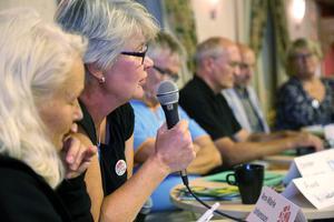 Ann-Marie Johansson (S) lovade att Fjällhälsan ska finnas kvar.