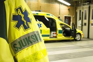 I brist på ambulanser erbjöd SOS alarm att skicka en taxi, berättar Inger Fredholm.