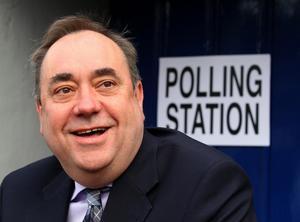 Vill krossa Storbritannien. Alex Salmond vann en storseger i valet till det regionala skotska parlamentet och siktar på att Skottland skall bryta sig ur och bli självständigt.foto: scanpix