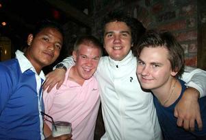 Konrad. Viktor, Joel, Tobias och Tommy