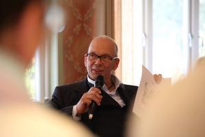 Sune Frost (MP) är förste vice ordförande samhällsservicenämnden, och han tror att Kulthammarprojektet kan bli ett lyft för Järvsö. Foto: Bettina Bettenhausen