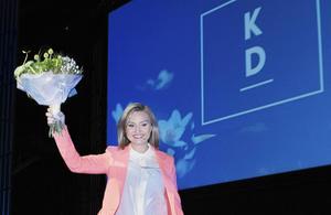 Partiledaren Ebba Busch Thor (KD) har sagt att hennes uppgift nu är att göra KD:s nya politik känd.