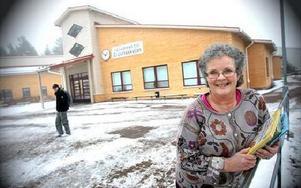 -- Det är roligare i dag, säger Christina Kardell om lärarjobbet. Hon har fått pris både 2006 och 2007, från Rotary och från Delta Kappa Gamma, ett internationellt nätverk,  för sitt engagemang i jobbet. FOTO: BONS NISSE ANDERSSON
