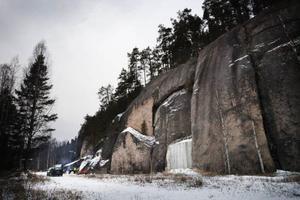 Temperaturen i berget hålls konstant kring åtta plusgrader året runt.