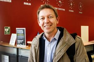 Magnus Lemoine håller på Sandviken. Men så bor han också i Gävle.