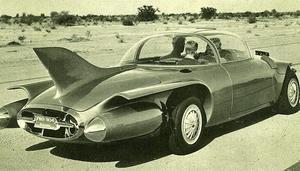 Pontiac Firebird från 1956 såg verkligen ut som en raket på fyra hjul.