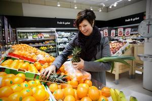 Ingeborg Wiksten (FP) slår flera slag för nyttigare kost.