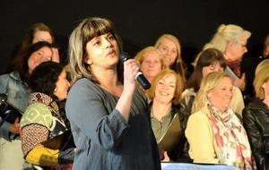 Körledare Semitha Sjöqvist.