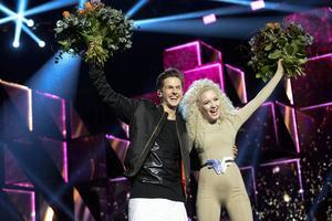David Lindgren och Wiktoria jublade i Malmö – de tog sig båda till finalen i Stockholm.