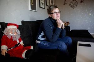 Erika Viklander fick en chock när bilen med julklapparna var borta.