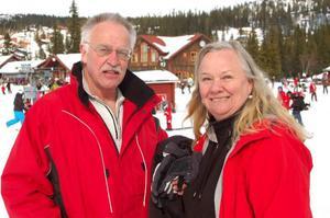 SFI-lärarna från Bergs kommun Ulf Jernberg och Inga-Lis Bromée.