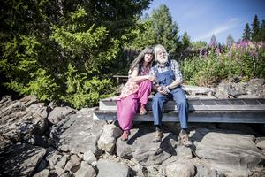 I arton år har Eva och Rolf bott i sitt drömhus som de byggde i Kall.