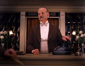Bill Murray i en scen från filmen