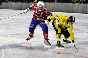 Andreas Tiger måste få stopp på Köping på söndag.