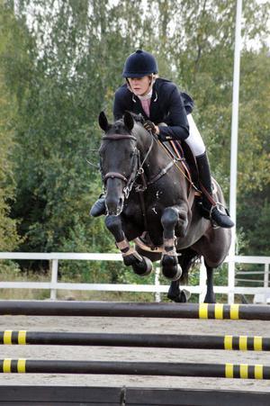 Sabine Persson och Landorette SP placerade sig i 1,20.