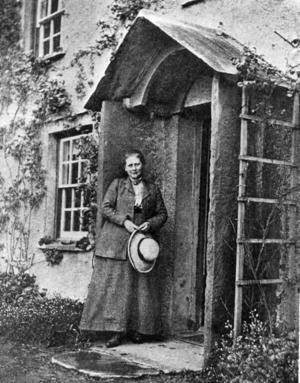Välbesökt. Sagoförfattaren Beatrix Potters (1866–1943) hem är ett populärt utflyktsmål i England.