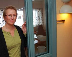 Kaisa Rainerson. Hon är ny personalchef i Mora och började sitt jobb i kommunen i måndags.