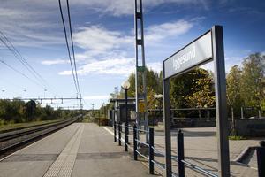 Tågstationen i Iggesund riskerar att försvinna.