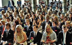 Sista året i grundskolan för niondeklassarna på Åkerö skola. En del läser vidare, andra försöker komma ut i arbetslivet kanske.FOTO: BOEL FERM