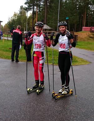 Louise Dahl och Anna Svedin-Thunström vann varsin klass.