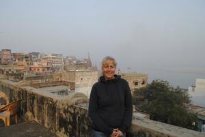 Rik på upplevelser. Marianne tyckte att resan till Indien var bland det häftigaste hon någonsin har gjort, sedan hon kom hem har hon ofta drömt om resan. Foto: Privat