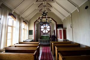 Interiör från kapellet.